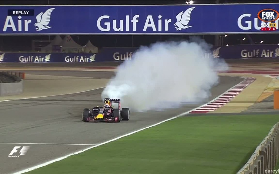 Watch Ricciardo's Renault Engine Go Boom!
